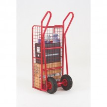 Distribution Handtruck with mesh back and sides