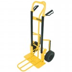 P'Handle Handtruck also fitted with knuckle protection