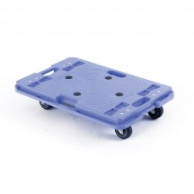 Silentmaster Interconnecting Plastic Dolly 600 x 400 x 120mm. Capacity150kg
